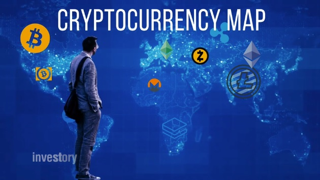 Cryptocurrency Market Map: What's the Difference Between Bitcoin, Ethereum, Litecoin, and Other Cryptos?